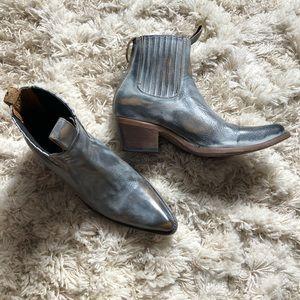 """Freebird """"faith"""" boots."""